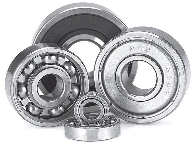 Metric Series Bearings Miniature bearings are offered in metric and inch sizes in open type, with seals or shields, flanged or unflanged. They are available in stainless steel and chrome, and in the case of GRW can also be manufactured in ceramic or a hybrid material known as SV material. This material is beneficial in a highly corrosive environment.