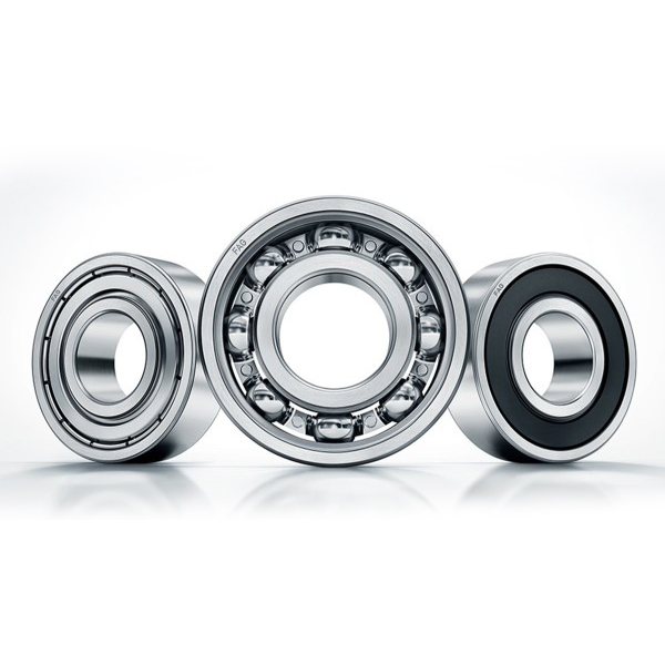 Radial Ball Bearings Deep groove, or single row radial, ball bearings are the most widely used bearings. They utilize an uninterrupted raceway that makes them optimal for radial loads .This design permits precision tolerance, even at high-speed operation.