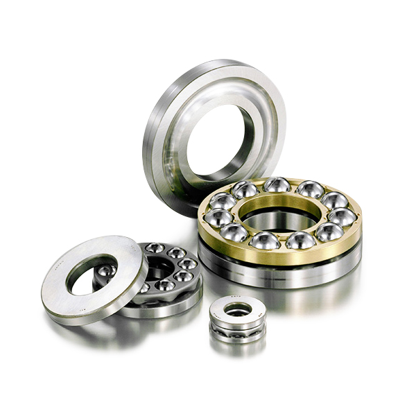 Thrust Bearings PIB thrust ball bearings are manufactured as single direction and designed to withstand force in the same direction as the shaft. They  accommodate axial/thrust loads.