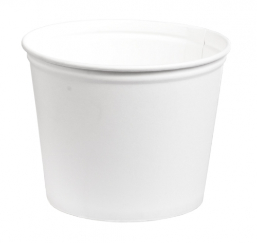 130cup130 Oz. White Paper Cups W/lid130 OZ. WHITE PAPER CUPS W/LID