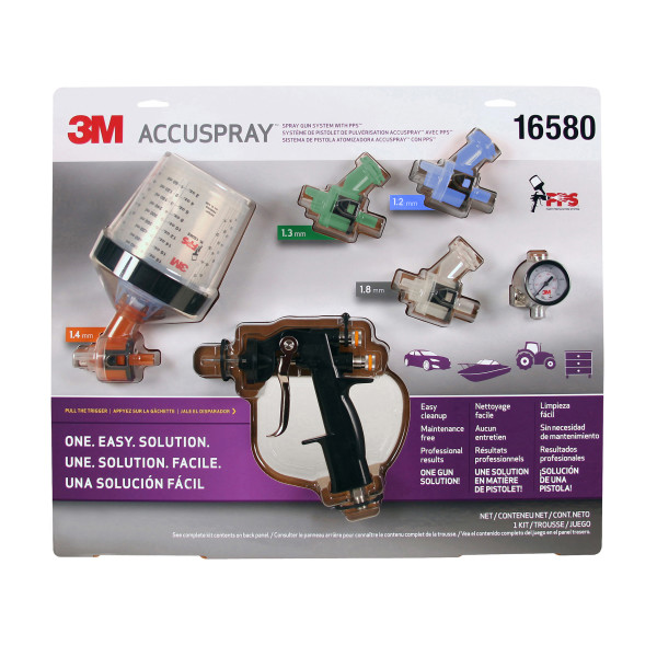 165803m Accuspray Gun System W/pps4 Per Cs3M ACCUSPRAY GUN SYSTEM W/PPS
