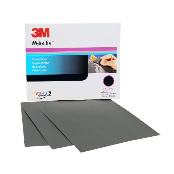 20183m 9x11 80c Grit W/dsandpaper50 Sheets Per Sleeve3M 9X11 80C GRIT W/D