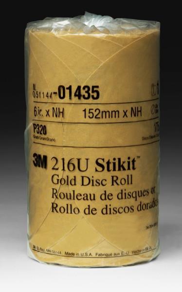 14353m 6x Nh 320a Stikit Gold Discroll175 Per Roll3M 6X NH 320A STIKIT GOLD DISC