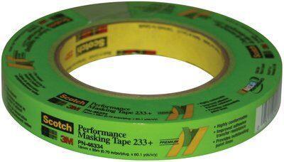 233-183m 233+ 18mm Green Tapemasking Tape3M 233+ 18MM GREEN TAPE