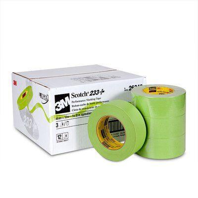 233-23m 233+ 48mm Green Tapemasking Tape3M 233+ 48MM GREEN TAPE