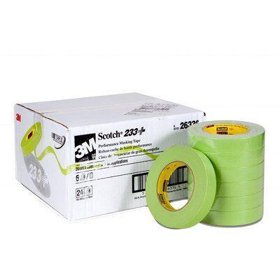 233-243m 233+ 24mm Green Tapemasking Tape3M 233+ 24MM GREEN TAPE