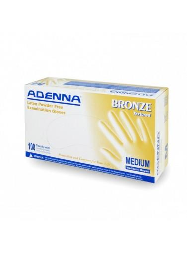 Brzxlbronze Latex (pf) Glovessize Xl; Powder Free; 5 MilBRONZE LATEX (PF) GLOVES