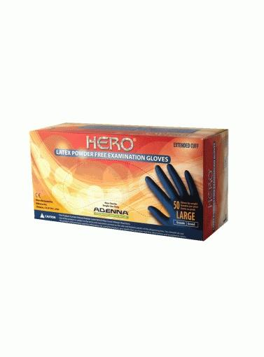 Herolhero Powder Free Glovessize Large; 14 Mil; Heavy DutyHERO POWDER FREE GLOVES