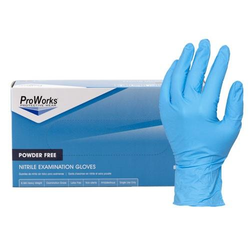 Npflnitrile Powder Free Gloveslarge 5mil BlueNITRILE POWDER FREE GLOVES