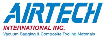 AIRTECH INTERNATIONAL INC. Airtech International, Inc. is a division of Airtech Advanced Materials Group, the largest manufacturer of vacuum bagging and composite tooling materials for prepreg/autoclave, resin infusion, and wet lay-up processes . The product line consists of: vacuum bagging films, release films, pressure sensitive tapes, release liquids, peel plies, breathers & bleeders, sealant tapes, vacuum bag connectors & hoses, rubber, pressure pads, cutting tools, vacuum leak detectors, shrink tape, PTFE coated fiberglass, tooling prepregs and resins, and carbon and glass reinforcements. Business focus areas include aerospace, wind energy, marine, automotive, printed circuit board, solar energy and general FRP composites.