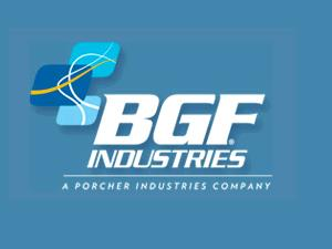 BGF INDUSTRIES BGF Industries is a leading US manufacturer of high performance fabrics and materials serving the Aerospace, Marine, Filtration, Insulation, Automotive, Electrical, Protection and Construction industries.