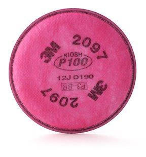 071843m P100 - Particulate Filter2097/07184 (aad) - 2/pack3M P100 - PARTICULATE FILTER