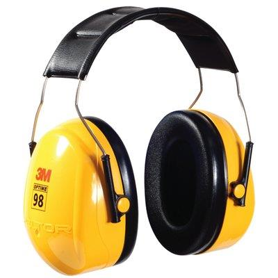 080913m Peltor Optime 98 Earmuffover The Head - Conservationh9a 10 Each Per Case3M PELTOR OPTIME 98 EARMUFF