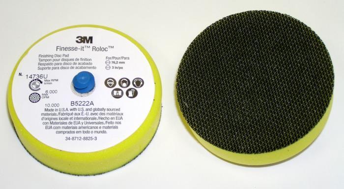 147363m FinessE-It Finishing Disc3 In Firm12 Per Case3M Finesse-it Roloc Finishing Disc Pad 14736U, 3 in Firm, 12 per case
