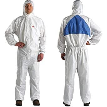 909523m Coverall 4540 3xl HoodeduU-0015-0160-820 Suits In A Box3M COVERALL 4540 3XL HOODED