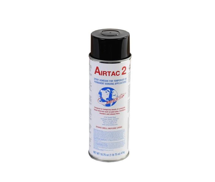 Airtac2airtac 2 Megaclear Mist Spray Adhesivehigh Tack, Temporary Bonding12 Cans Per CaseAIRTAC2 IMPROVED