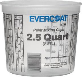 Fib7892.5 Quart Mixing Cups2.5 QUART MIXING CUPS