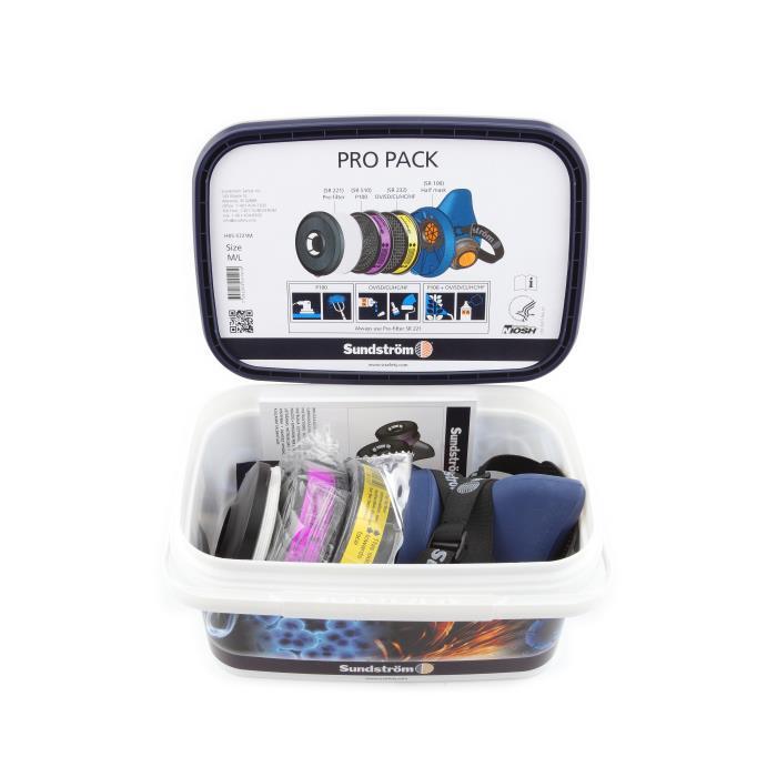 H05-5721mpro Pack Sr 100 Respirator Kiths Code 9020006000PRO PACK SR 100 RESPIRATOR KIT