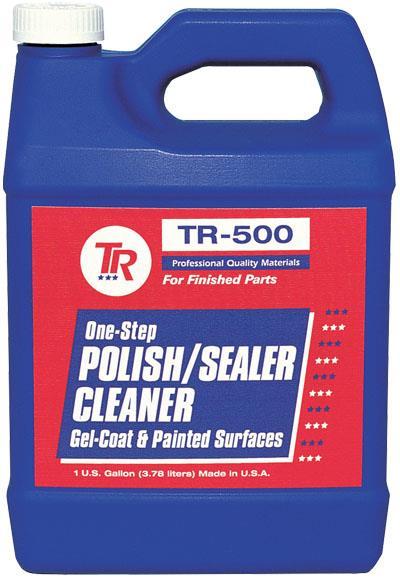 Tr500resin Cleaner Sealer FinishRESIN CLEANER SEALER FINISH