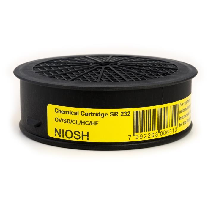 H02-3721sr 232 Chemical Cartridgehs Code 8421990080ov/sd/cl/hc/hf Cartridge4 Per BoxSR 232 CHEMICAL CARTRIDGE